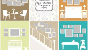 Photo Wall Display Templates Wall Display Templates Uppercross Lane