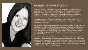 Photography Bio Template Great Wedding Photographer Bio Examples Bio Examples