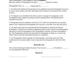 Photoshoot Contract Template Basic Wedding Photography Contracts Photography Contract