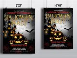 Photoshop Elements Flyer Templates Items Similar to Halloween Party Flyer Template