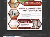 Photoshop Real Estate Flyer Templates Real Estate Corporate Flyer Hexagon Real Estate Real