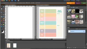 Photoshop Schedule Template Weekly Schedule Template Photoshop Elements Tutorial