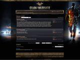 Phpbb forum Templates Clan Gaming PHPbb Skin