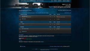 Phpbb forum Templates Esport PHPbb forum Skin