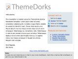Phplist Email Templates PHPfox PHPlist HTML Email Newsletter Template themedorks