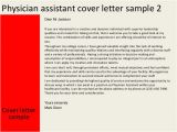 Physician assistant Cover Letter New Graduate Sample Cover Letter Sample Cover Letter Physician assistant