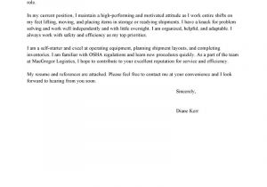 Pick Packer Cover Letter Leading Professional Picker and Packer Cover Letter