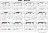 Picture Calendar Template 2017 2017 Calendar Template Monthly Calendar 2017