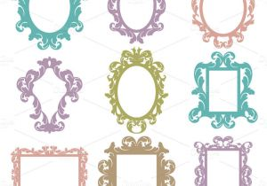 Picture Frame Templates for Photoshop 35 Photoshop Frame Brushes Free Brushes Download Free