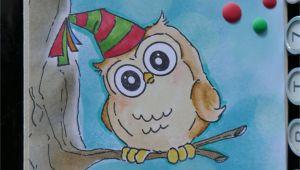 Picture Of Happy Birthday Card Happy Birthday Card Geburtstagskarte Art Impressions Owl