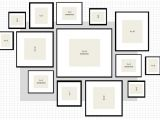 Picture Wall Template Ikea Ikea Frame Layout Ideas Native Home Garden Design