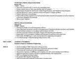 Piping Engineer Resume Doc Engineer Piping Resume Samples Velvet Jobs