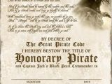 Pirate Certificate Template 29 Best Certificate Templates Images On Pinterest