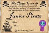 Pirate Certificate Template Junior Pirate Certificate Rooftop Post Printables