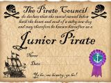 Pirate Certificate Template Junior Pirate Certificate Rooftop Post Printables