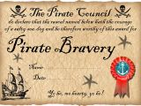 Pirate Certificate Template Pirate Certificate Of Bravery Rooftop Post Printables