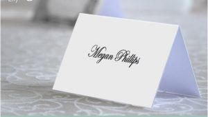 Plain Place Card Template Blank Place Name Card Template Instant Download Editable