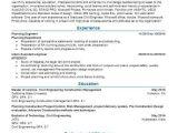 Planning Engineer Resume Planning Engineer Objectives Resume Objective Livecareer