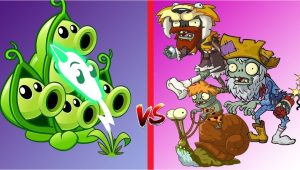 Plants Vs Zombies Invitation Card Plants Vs Zombies 2 Pea Pod Lightning Reed Challenge attack