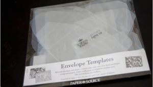 Plastic Envelope Template Reusable Envelope Templates