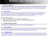 Pmi Business Case Template Business Case Template Fotolip Com Rich Image and Wallpaper