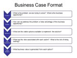 Pmi Business Case Template Business Case Template In Word Excel Project Management