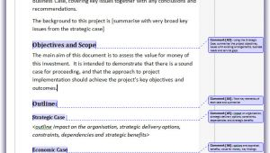 Pmi Business Case Template Projecttemplates Project Templates for Professional