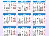 Pocket Calendar Template 2017 Pocket Calendar Template Online Calendar Templates