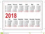 Pocket Calendar Template 2017 Printable Pocket Calendar 2018 Printable Calendar 2018