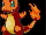 Pokemon Perler Bead Template Pokemon Charmander Fuse Bead Perler Pattern Perler Bead