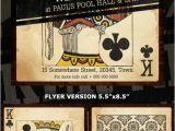 Poker Flyer Template Free Poker Casino Ads Templates Flyerstemplates
