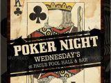Poker Flyer Template Free Poker Night Flyer Template Design Graphic Pinterest