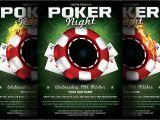 Poker Flyer Template Free Poker Night Flyer Template Flyer Templates Creative Market