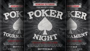 Poker Flyer Template Free Poker Night Flyer Template Flyer Templates Creative Market