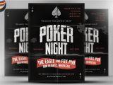 Poker Flyer Template Free Vintage Style Poker Flyer Template Flyer Templates