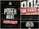 Poker Flyer Template Free Vintage Style Poker Flyer Template Flyerheroes