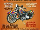 Poker Run Flyer Template Free Motorcycle Poster Autism Poker Run Posters Poker Run