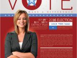 Political Newsletter Template Best Political Flyer Templates Seraphimchris Graphic