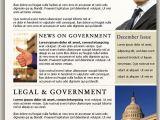Political Newsletter Template Political Newsletter Template Best Business Template