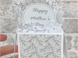 Pop Up Card Flower Mothers Day New Mother S Day Card Pop Up Card Happy Mothers Day