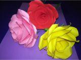 Pop Up Card Flower Tutorial Paper Blossom Diy Roses Of Paper Ruze Od Papira Rosas De Papel Youtube