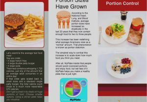 Portion Control Template Latest Nutrition Brochures Brochure Template the Best