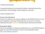 Post event Thank You Email Template event Email Templates Every event Planner Should Have