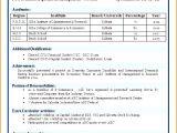 Post Graduate Fresher Resume format Commerce Graduate Fresher Resume Sample Free Samples
