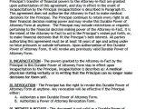 Power Of attorney Template Virginia Free Durable Power Of attorney Virginia form Adobe Pdf