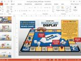 Power Point Game Templates Animated Board Game Powerpoint Template