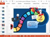 Power Point Game Templates Animated Timeline Game Powerpoint Template