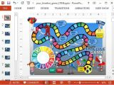 Power Point Game Templates Animated Timeline Game Powerpoint Template Powerpoint