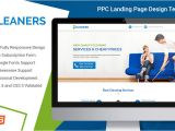 Ppc Landing Page Template Lead Gen Responsive Professional and Converting Cleaning