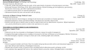 Pre Med Student Resume Medical Student Cv Sample 7 Examples In Word Pdf